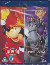Fun and Fancy Free + Ichabod and Mr Toad  New & Sealed Disney UK Blu-ray