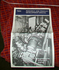 PERKINS RESEARCH AND PRODUCT DEVELOPMENT SPECIAL. 1970's NEW TEST FACILITY