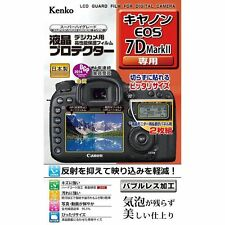 New Kenko LCD Screen Protector for Canon EOS 7D Mark II Japan