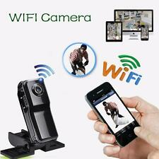 Mini WIFI/IP Wireless Spy Cam Remote Surveillance DV Security Micro Camera sa