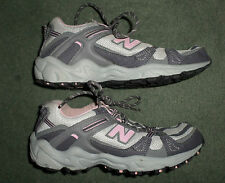 Women's Pink & Grey NEW BALANCE 410 All Terrain Athletic Running Shoes, Size 7B