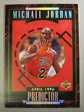 1995-96 Upper Deck Predictor Player of the Week #H5 Michael Jordan April