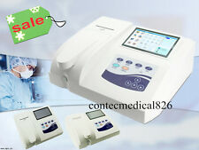 CONTEC touch screen Semi-auto biochimica Biochemistry Analyzer, Fluid analizzare