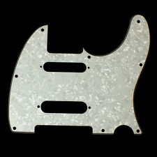 Custom Guitar Pickguard For Nashville Tele SS style ,4Ply White Pearl Celluloid
