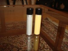 Two Vials of Silver and Gold Powder Eye Shadow Vintage Make-Up Cosmetics