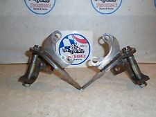 "VINTAGE RACING GO KART FRONT WHEEL BRAKE SPINDLES 5/8"" CART PART"