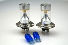 NISSAN 350Z 2005+ 2 x H7 SUPER WHITE CREE LED SMD 30W CANBUS BULBS LIGHT +501
