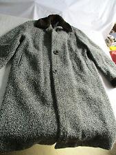 manteau long femme en laine ancien.