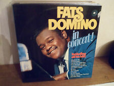 "2 LP 12 "" FATS DOMINO - In concert - NM/MINT - NEUF - MERCURY 6641 537 - HOLLAND"