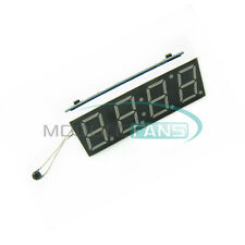 Car LED Digital Tube Clock Voltage Detector Temperature Detection Module New