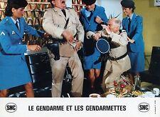 LOUIS DE FUNES LE GENDARME ET LES GENDARMETTES 1982 VINTAGE LOBBY CARD #10