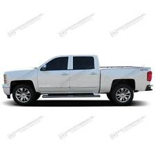 For: DODGE RAM 1500 CREW CAB; Body Side Mouldings Molding CHROME ABS 2009-2015