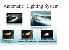Automatic headlight Control by auto sensor control front lamp on/off