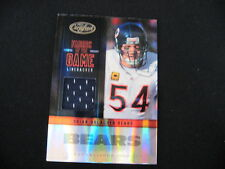 BRIAN UHRLACHER GAME -WORN MATERIAL RELIC--2012 CERTIFIED #'D TO 99