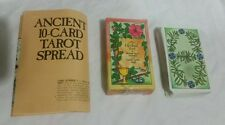 The Herbal Tarot Cards Tierra Cantin Wicca Pagan Divination Pagan 1988 Spread