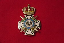 GERMANY/PRUSSIA  MEDAL - ROYAL HOUSE ORDER HOHENZOLLERN KNIGHT - REQUIRES REPAIR