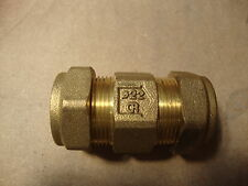 NEW 22mm brass non return check valve plumbing, water