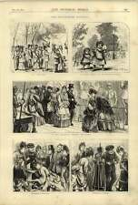 1874 The Whitsuntide Holidays At The Zoo Haverstock Hill Torture Instruments Tow