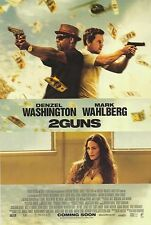 2 Guns Intl Original Movie Poster Double Sided 27x40