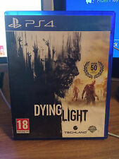 EXCELLENT CONDITION ( DYING LIGHT ) BRILLIANT  PS4  GAME