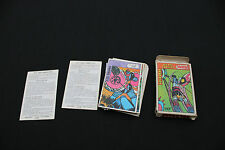 P1378  TELE GUIDE rare Ancien jeu 7 familles Goldorak 1978 Actarus vega le ranch