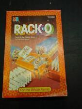Racko by Milton Bradley 1987