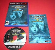 Playstation PS2 Les Chevaliers de Baphomet Le Manuscrit de Voynich [PAL Fr] *JRF