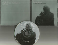 The Verve RICHARD ASHCROFT A Song for lovers 3TRX USA PROMO Radio DJ CD single