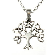 """Sterling Silver Tree Pendant with 18"""" Chain & Box"""