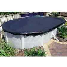 Pool Cover For 5.0 x 3.0m Oval Above Ground Pool, Stops Leaves, Debris New!