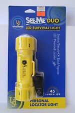 New UST See-Me™ Duo LED Survival Light Waterproof 164ft. strobe/steady light