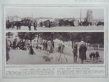1914 DEFENCE OF BRUSSELS BARRICADES; HAELEN VILLAGE FIGHTING WWI WW1