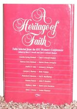 A HERITAGE OF FAITH BYU WOMENS CONFERENCES DALLIN H. OAKS 1988 LDS MORMON HB