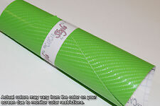 【AirFree】4D Gloss Carbon Fibre Vinyl 0.3m(11.8in)x1.52m(59.8in)Wrap Film Sticker