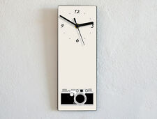 Vintage Silhouette - Photography Camera - Laica Pictures - Wall Clock