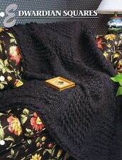 Edwardian Squares Annie's Attic Crochet Afghan Pattern Instructions
