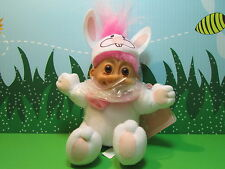 "EASTER BUNNY / RABBIT w/HANG TAG (#2) - 7"" Soft Russ Troll Doll - NEW"