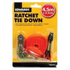 "1 x 15ft 1 ""Ratchet Tie Down galerie de toit voiture remorque Exploitation sécuriser sangle"