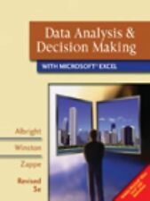 Data Analysis and Decision Making with Microsoft Excel by Christopher Zappe,...