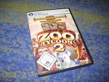 Microsoft Zoo Tycoon 2 - Zoodirektor Sammlung Kpl. DEUTSCH in DVD Hülle