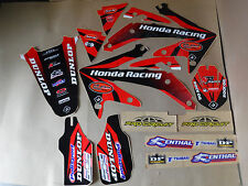 FLU  DESIGNS TEAM HONDA GRAPHICS CRF450R  2005 2006 2007 2008