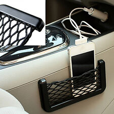 Car Seat Mesh Net String Pouch Bag Storage Small Item Organizer Phone Holder New
