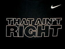NIKE THAT AIN'T RIGHT SHIRT Banned Hyperdunk Commercial Ad Anti Gay Controversy