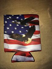 4th of July American Honor and Pride Coozie