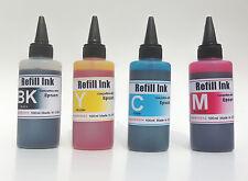 400ml Bulk Refill UV INK for Epson #126 127 Workforce WF-7010 WF-7510 WF-7520