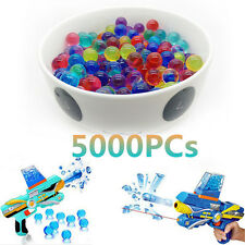 5000 Water Bullet Balls 9mm-11mm Jelly Beads Water Gel Beads Paintball Toys Game