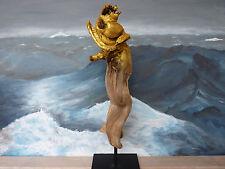 """***Treibholz Skulptur """"Schneckenfisch"""" aus dem Mittelmeer SKUL 101 Snail Fish***"""