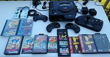 Sega Genesis Sega CD model 1 lot Sega wireless controllers Cadillacs & Dinosaurs