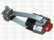 Chrome horn Red button/kill switch for 7/8 inch handlebar