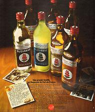 Publicité Advertising 1972  Les Duquesne de Fort-de-France Rhum Blanc